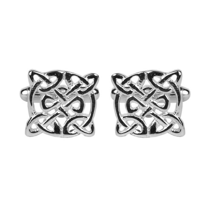 Simple Celtic Pattern Cufflinks