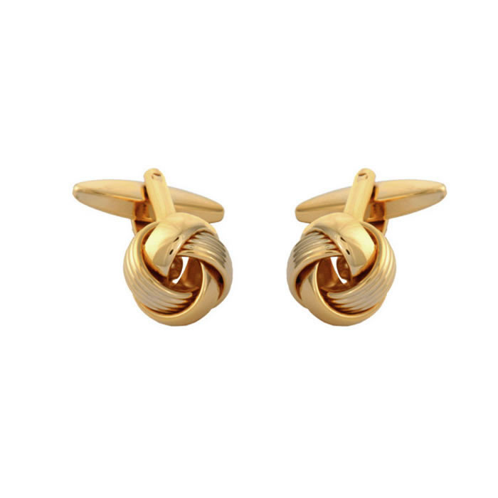 Multiple Strand Love Knot Style Cufflinks