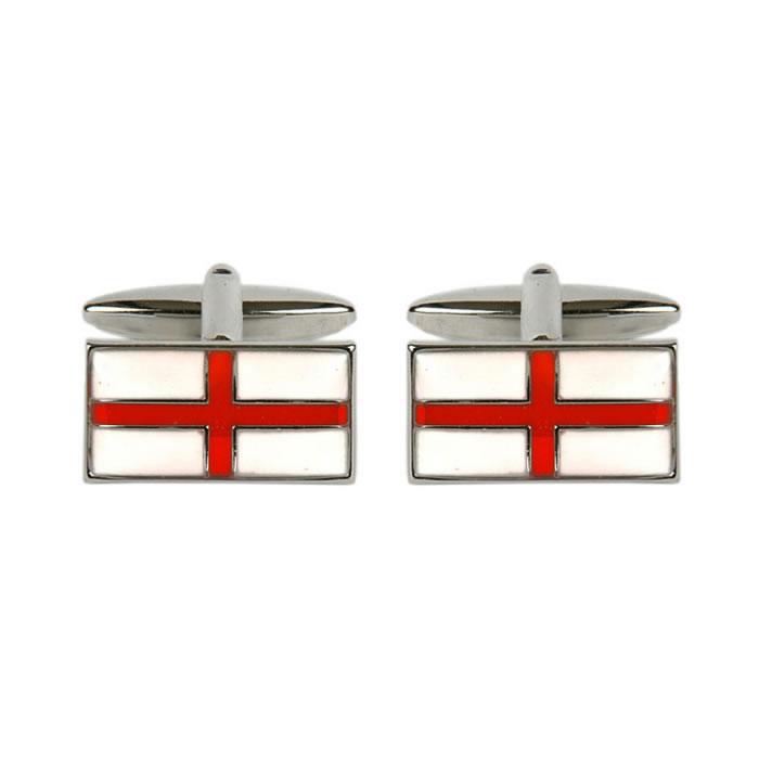 English Flag Cufflinks