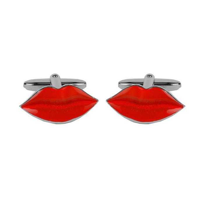 Hot Lips Cufflinks