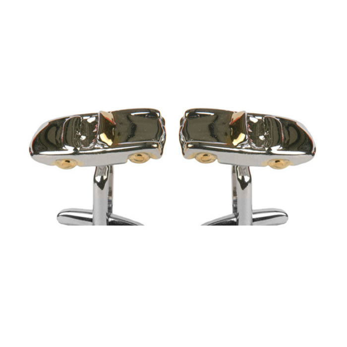 Tinted Sports Car Cufflinks
