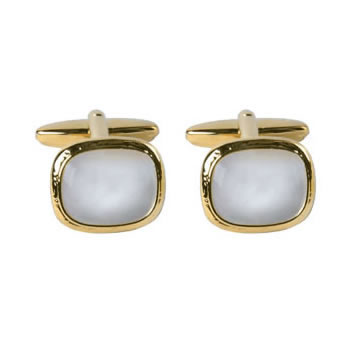 Rounded Square Style Cufflinks