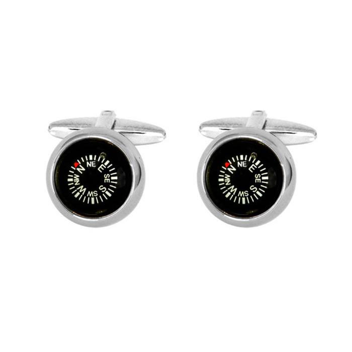 Compass Style Cufflinks