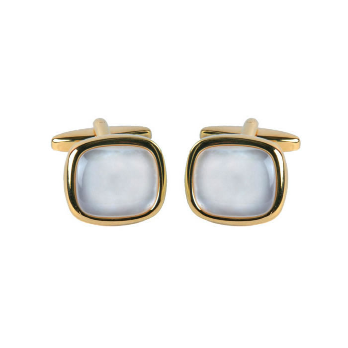 Rounded Edge Square Cufflinks