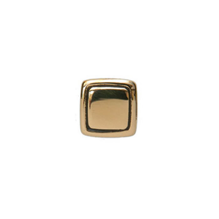 Square Black Outline Tie Tac