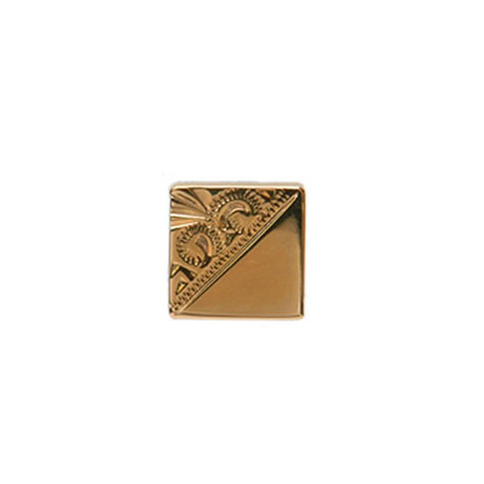 Venetian Engraved Effect Square Tie Tac