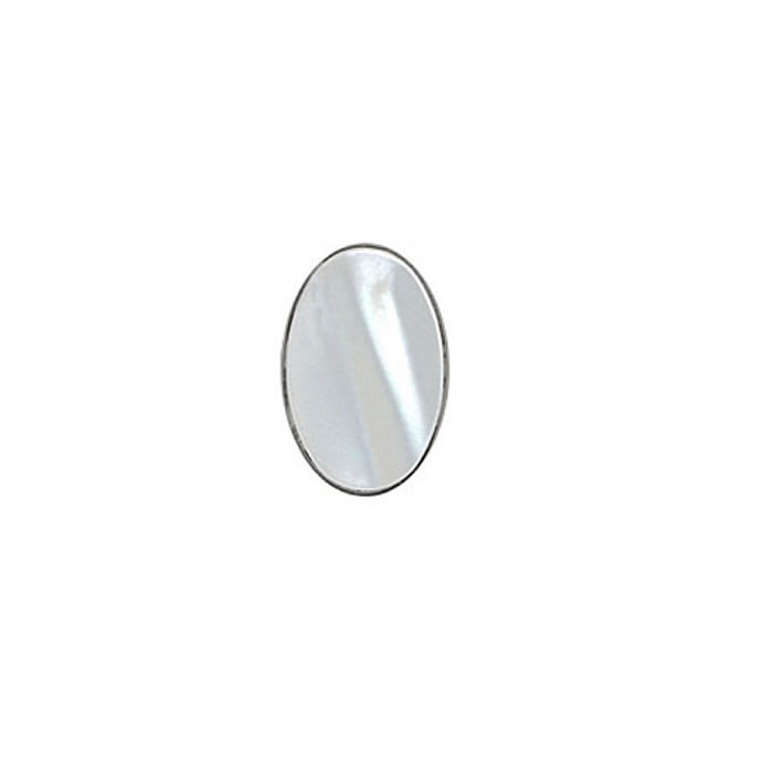 Oval Mother Of Pearl Shine Style Tie Tac