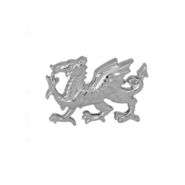 Welsh Dragon Cut Out Tie Tac