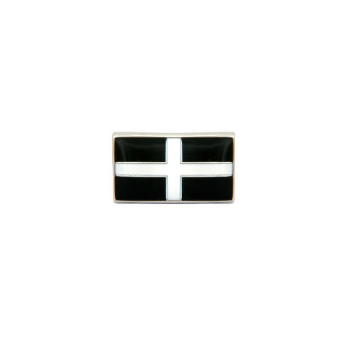 Cornish Flag Tie Tac