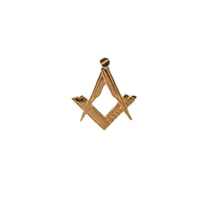 9Ct Gold Masonic Tie Tac