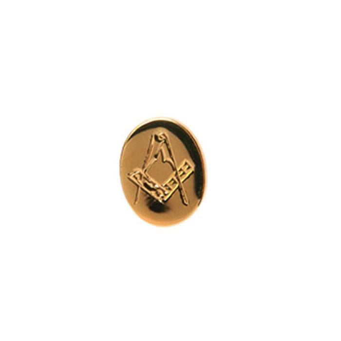 Oval Masonic Tie Tac