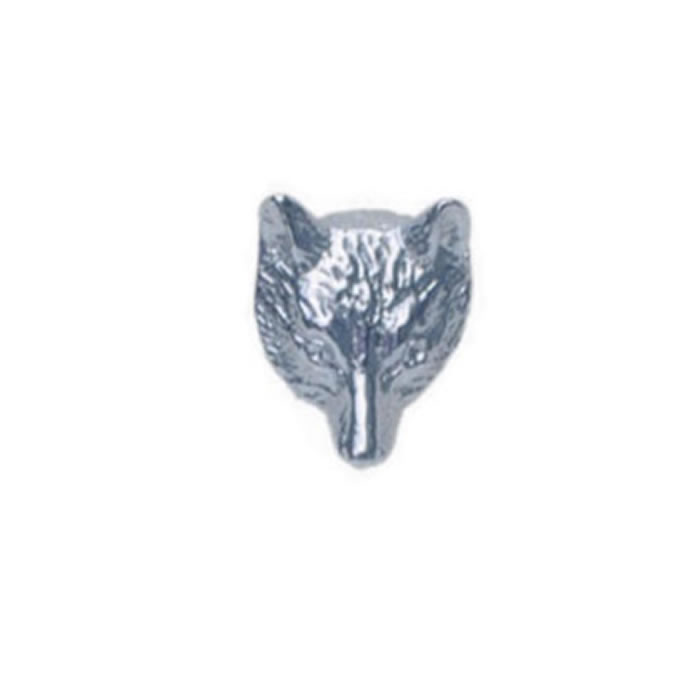 Sterling Silver Wolf Sterling Silver Tie Tac