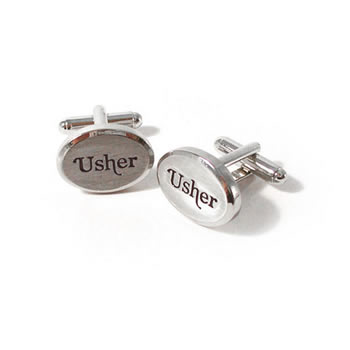 Usher Oval Cufflinks