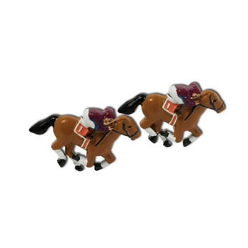 Horse Racing Novelty Cufflinks
