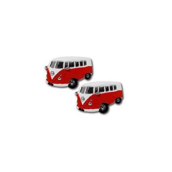 Camper Van Red Cufflinks
