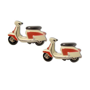Lambretta Scooter Cufflinks
