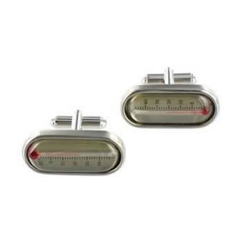 Thermometer Cufflinks