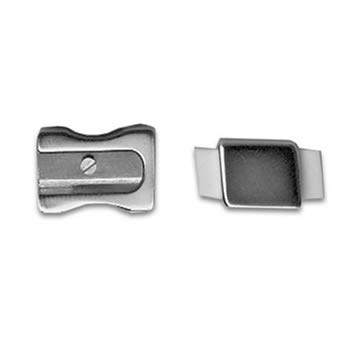 Pencil Sharpener And Eraser Cufflinks