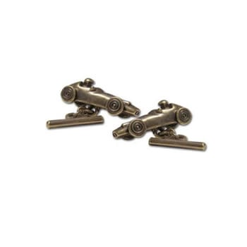 Antique Racing Car Cufflinks
