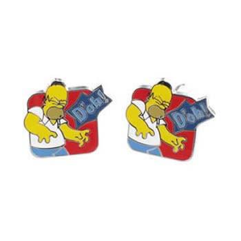 Simpsons Homer Doh Cufflinks