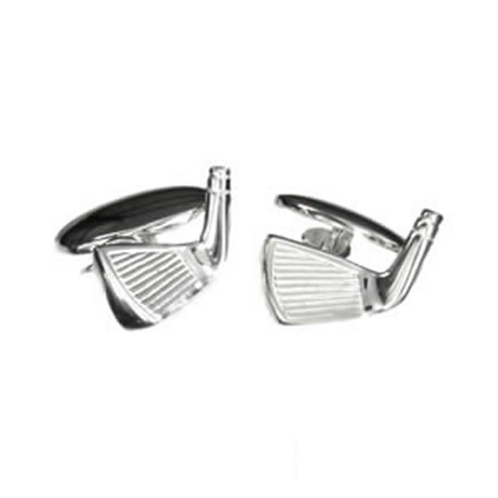 Sterling Silver Golf Club Cufflinks