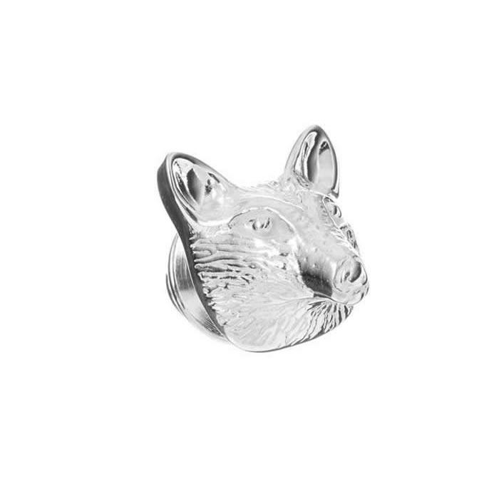 Sterling Silver Fox Pin