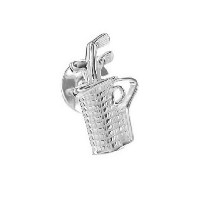 Sterling Silver Golf Bag Pin