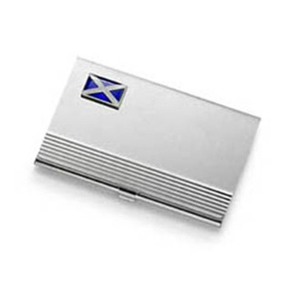 Scottish Flag Business Card Holder