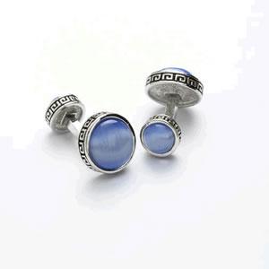 Blue Cleopatra Cufflinks