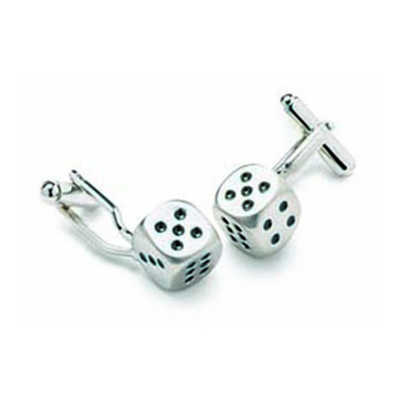 Dice Shaped Cufflinks