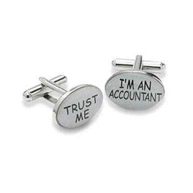 I'm An Accountant Cufflinks