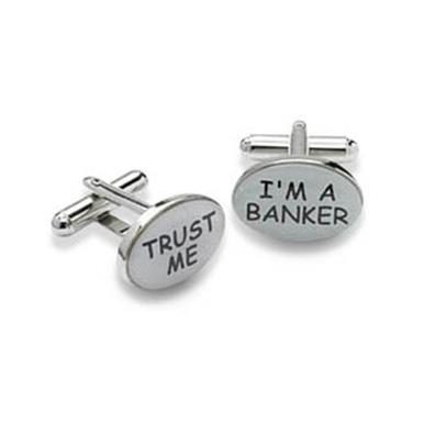 I'm A Banker Cufflinks