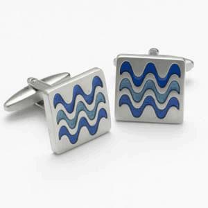 Square Wave Cufflinks