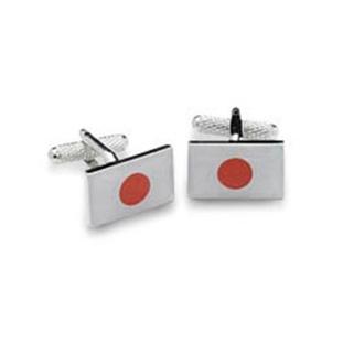 Japan Or Japanese Flag Cufflinks