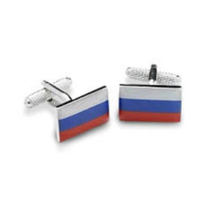 Russia Russian Flag Cufflinks