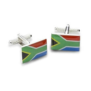 South Africa Or South African Flag Cufflinks