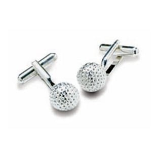 Golf Ball Shaped Cufflinks