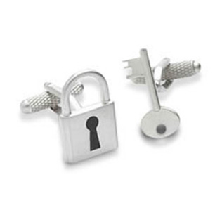 Lock And Key Cufflinks