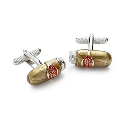Cubas Finest Cigar Cufflinks