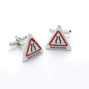 Ready And Waiting Cufflinks