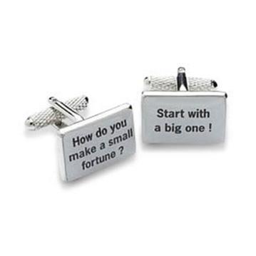 Make A Fortune Cufflinks