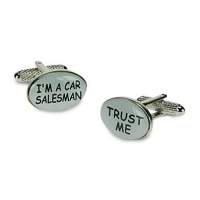I'M A Car Salesman Cufflinks