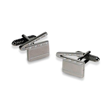 Silver Clapper Board Cufflinks