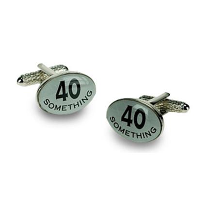 40 Something Logo Cufflinks