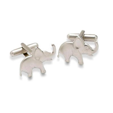 Elephant Shaped Cufflinks