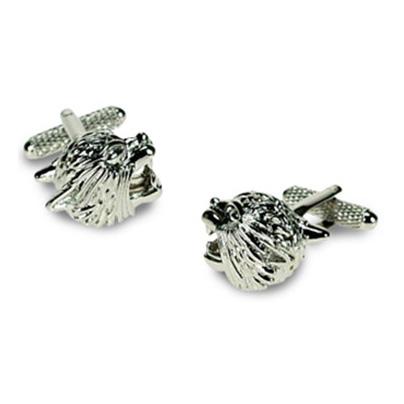Silver Jaguar Cufflinks
