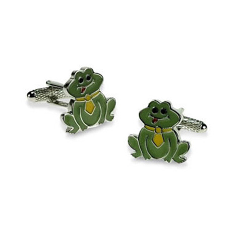 Frog Cartoon Cufflinks