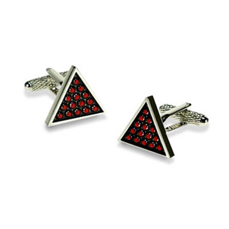 Snooker Triangle Cufflinks