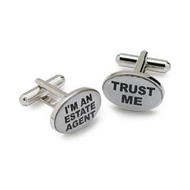 I'm An Estate Agent Cufflinks