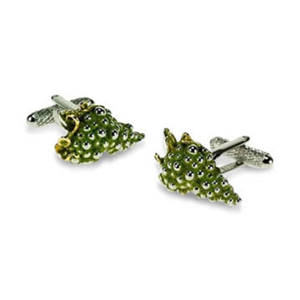 Green Grapes Cufflinks